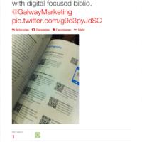 Kommentar auf Twitter #redressingimbalance