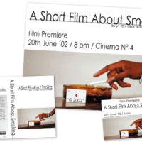 A Short Film About Smoking | Poster, Flyer, VHS-Cover | 2002