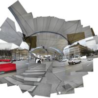 A-Wien | Urban Loritz Platz, Neubau Gürtel, Städtische Bibliothek | 2002