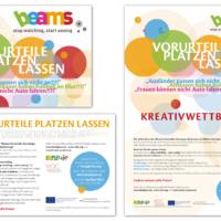 BEAMS | Flyer und Poster | Entwurf und Gestaltung | 2014
