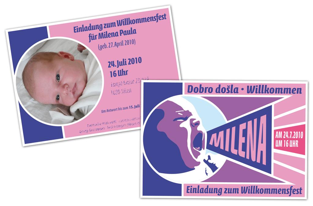 Babykarte | Entwurf und Gestaltung | 2010