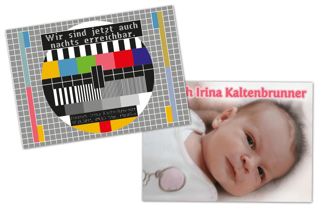 Babykarte | Entwurf und Gestaltung, Fotografie | 2011