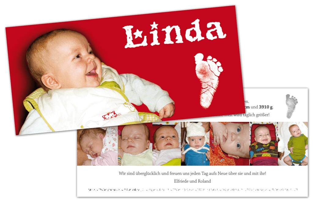 Babykarte | Entwurf und Gestaltung | 2009