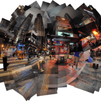 CN-Hong Kong | Shelley St/Staunton St - Escalator | 2012