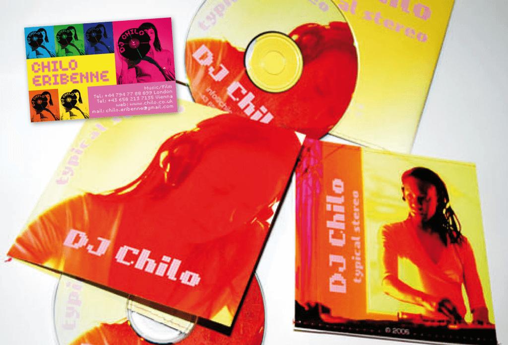DJ Chilo | CD-Cover | Entwurf und Gestaltung | 2005