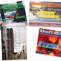DeltaDisco | Veranstaltungsflyer | Entwurf und Gestaltung | 2002