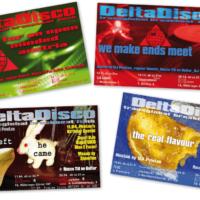 DeltaDisco | Veranstaltungsflyer | Entwurf und Gestaltung | 2002–2003