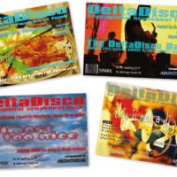DeltaDisco | Veranstaltungsflyer | Entwurf und Gestaltung | 2003