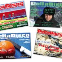 DeltaDisco | Veranstaltungsflyer | Entwurf und Gestaltung | 2003–2004