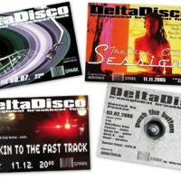 DeltaDisco | Veranstaltungsflyer | Entwurf und Gestaltung | 2005-2006