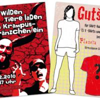 Einladung, Gutschein | Entwurf und Gestaltung | 2010
