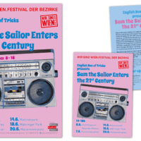 """English Box Of Trick """"Sam The Sailor Enters The 21st Century"""" 