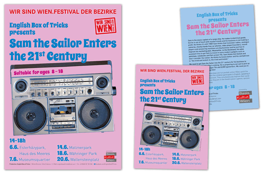 "English Box Of Trick ""Sam The Sailor Enters The 21st Century"" 