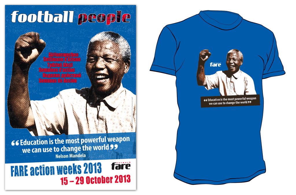 FARE Action Week | Poster und T-Shirt | Entwurf und Gestaltung | 2013