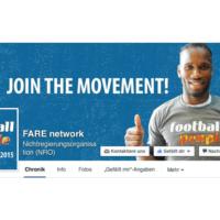 FARE network | Facebook Seitenheader und Profilbild | Entwurf und Gestaltung | 2015