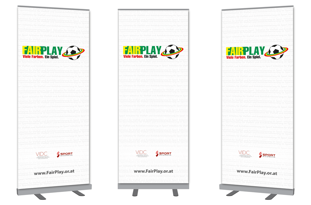 Fair Play | Rollup | Entwurf und Gestaltung | 2014