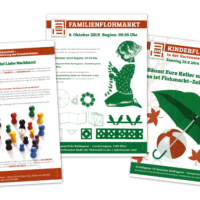 Gartensiedlung Ottakring   Nachbarschaftshilfe, Poster   Entwurf und Gestaltung   2012-2014