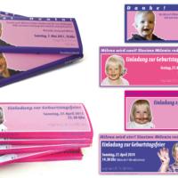 Geburtstagseinladungen (Zotter Schokoladen) | Entwurf und Gestaltung | 2011 – 2014