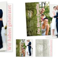 Hochzeitsbillet und Postkarte | Entwurf und Gestaltung, Fotografie | 2012