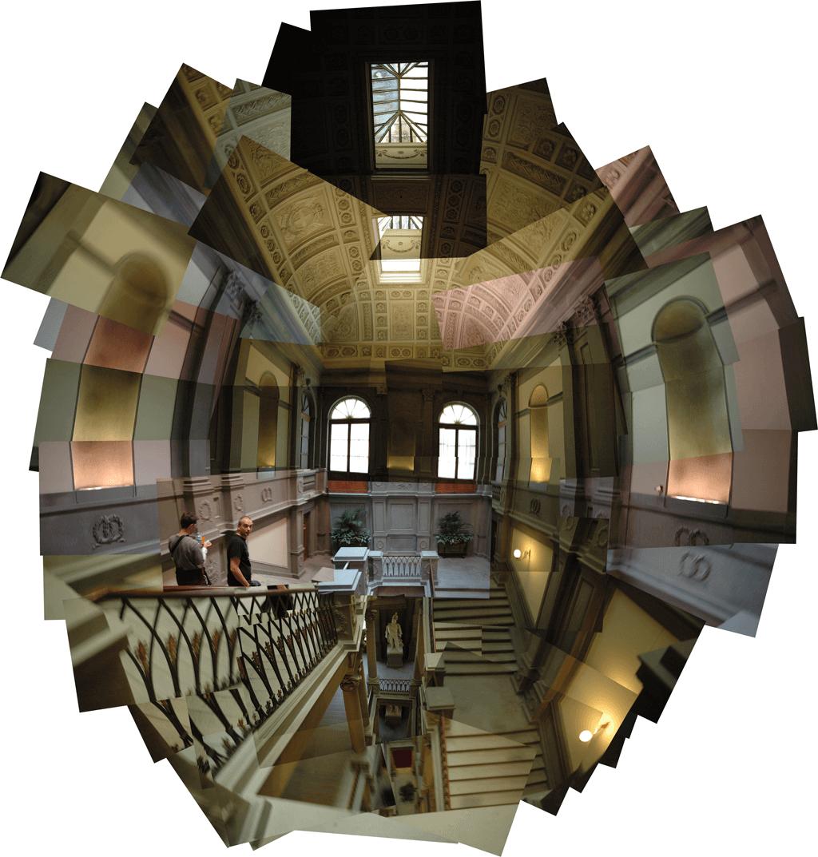 I-Florenz | Palazzo Pitti - Treppe | 2010