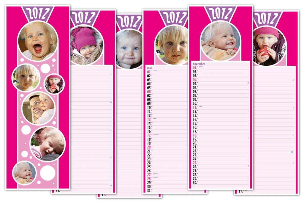Kalender   Entwurf und Gestaltung   2011