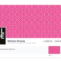 MALMOE | Facebook Seitenheader | Entwurf und Gestaltung | 2013