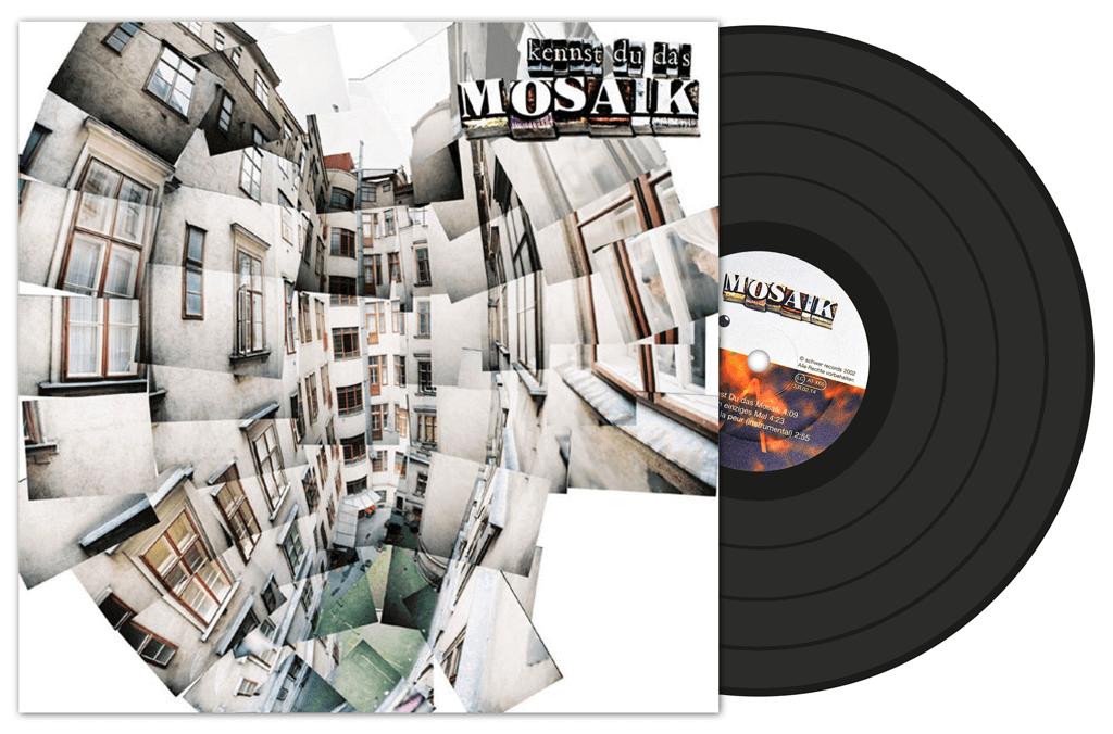 Mosaik | LP Cover | Entwurf und Gestaltung | 2002
