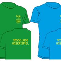 Nosso Jogo – Initiative für globales Fair Play, Brasilien 2014 | T-Shirt | Entwurf und Gestaltung | 2014