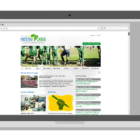 Nosso Jogo – Initiative für globales Fair Play, Brasilien 2014   Website Design   Entwurf und Gestaltung   2014