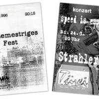 TÜWI | Plakate, Flyer | Entwurf und Gestaltung | 1995-1998