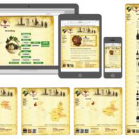 Weinhandel A&A Vinitalia   Logo, Visitenkarten, Webdesign, Fotografie, Illustrationen, Wordpress Theme   Entwurf und Gestaltung   2006–2013