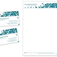 Psychotherapeutin Dr. Natascha Vittorelli | Visitenkarte, Briefpapier | Entwurf und Gestaltung | 2013