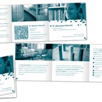Psychotherapeutin Dr. Natascha Vittorelli | Folder  | Fotografie, Entwurf und Gestaltung | 2015