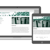 Dr. Natascha Vittorelli | Webdesign, Fotografie, Responsive Wordpress Theme | Entwurf und Gestaltung | 2014