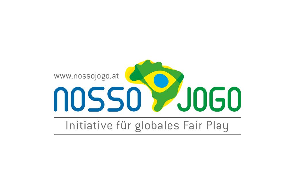 Nosso Jogo – Initiative für globales Fair Play, Brasilien 2014 | Logo | Entwurf und Gestaltung | 2013