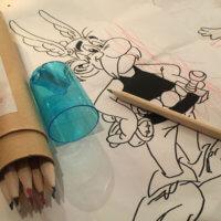 Zeichenvorlagen für Kinder | Entwurf und Gestaltung | 2016