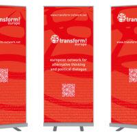 transform! europe | Rollups | Entwurf und Gestaltung | 2017