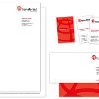 transform! europe | Briefpapier, Visitenkarten und Complement Cards | Entwurf und Gestaltung | 2016