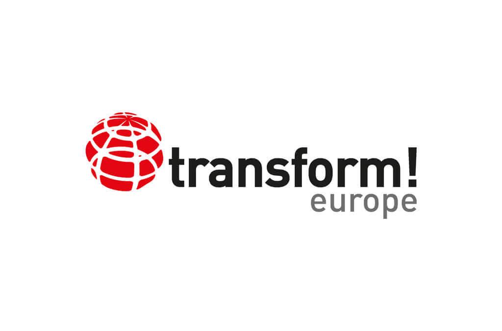 transform! europe | Logo Redesign | Entwurf und Gestaltung | 2016