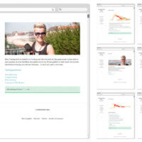 Körperwerk Wien | Webseitenentwurf | Entwurf und Gestaltung | 2017