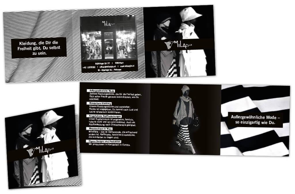 MilaStyle | Folder | Fotografie, Entwurf und Gestaltung | 2017