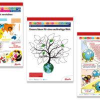 Südwind | 17 Ziele für eine bessere Welt: Poster | Entwurf und Gestaltung, Illustration. To-Do-Liste Cartoon by Margreet de Heer | 2018